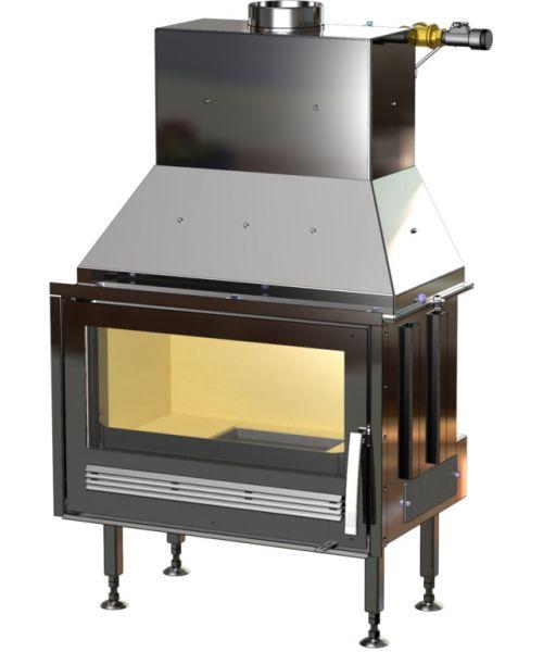ABX Oxford TV výměník 10,5 kW - krbová vložky na dřevo s teplovodním výměníkem