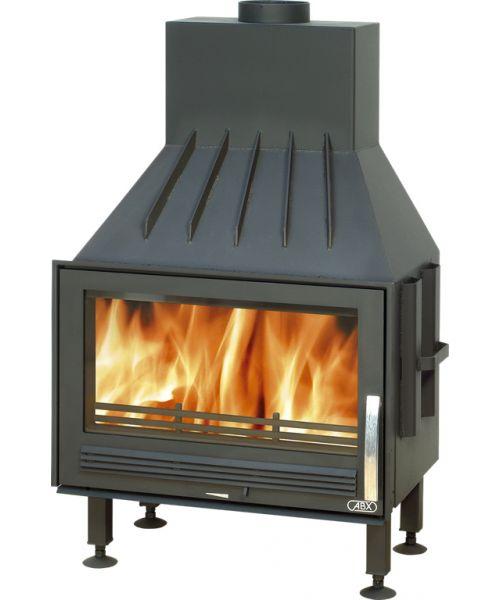 ABX Oxford TV výměník 7 kW - krbová vložky na dřevo s teplovodním výměníkem
